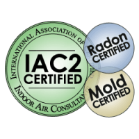 Radon Inspection, Indoor air Consultants.