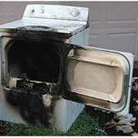 dangerous appliances dryer fire