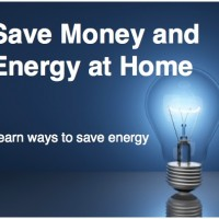 Energy savings at home